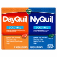 Vicks DayQuil / NyQuil Cold & Flu Multi-Symptom Relief LiquiCaps