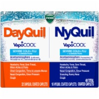 Vicks DayQuil & NyQuil VapoCool Severe Cold & Flu Coated Caplets