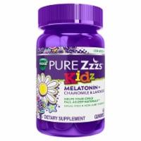 Vicks PURE Zzzs Kidz Melatonin + Chamomile & Lavender Gummies - 48 ct