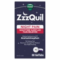 Vicks ZzzQuil Nighttime Pain Relief Sleep Aid GelTabs