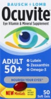 Ocuvite Adult 50 Plus Eye Vitamin Soft Gels
