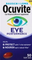 Ocuvite Eye Performance Soft Gels 50 Count