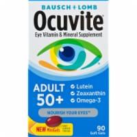 Ocuvite Adult 50+ Eye Vitamin & Mineral Supplement Mini Gels