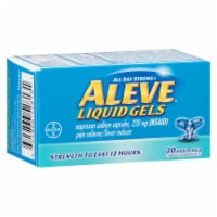 Aleve Naproxen Sodium 220mg Liquid Gels