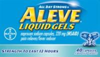 Aleve Liquid Gels 220mg