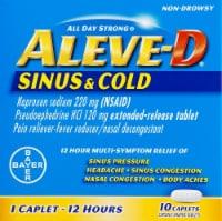 Aleve-D Sinus & Cold Caplets
