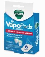 Vicks VapoPads Menthol Refill Pads 6 Count
