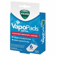 Vicks Vapo Pads Soothing Menthol Vapors Refill Pads