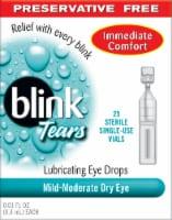 Blink Tears Preservative Free Lubricating Eye Drops 25 Count - 25 ct