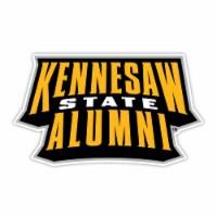 Kennesaw State Unviersity 4-Inch Laser Cut Alumni Vinyl Decal Sticker 2-Pack - 1
