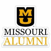 Missouri Tigers 4-Inch Laser Cut Alumni Vinyl Decal Sticker 2-Pack - 1