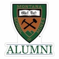 Montana Tech 4-Inch Laser Cut Alumni Vinyl Decal Sticker 2-Pack - 1