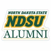 North Dakota State Bison 4-Inch Laser Cut Alumni Vinyl Decal Sticker 2-Pack - 1