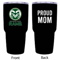 Colorado State Rams  Proud Mom 20 oz Insulated Stainless Steel Tumblers - 1