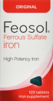 Feosol Original Ferrous Sulfate Iron Supplement