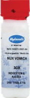 Hyland's Homeopathic Nux Vomica 30x Nausea Headache or Flu