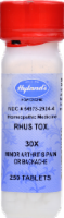 Hyland's Homeopathic Rhus Toxicondendron 30x Minor Arthritis Pain or Backache