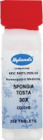 Hyland's Homeopathic Spongia Tosta 30x Coughs Tablets