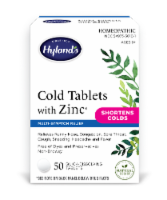 Hyland's Homeopathic Cold Tablets with Zinc