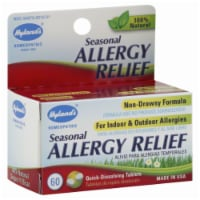 Hyland's Homeopathic Seasonal Allergy Relief Tablets