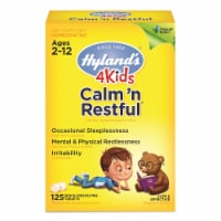 Hyland's 4 Kids Calm 'n Restful Sleep Supplement Tablets