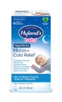 Hyland's Baby Homeopathic Nighttime Mucus + Cold Relief Liquid