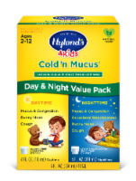 Hyland's 4 Kids Homeopathic Cold'n Mucus Day & Night Value Pack