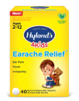 Hyland's 4 Kids Earache Relief Quick-Dissolving Tablets