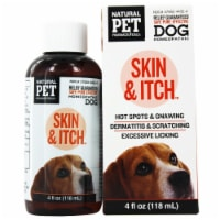 King Bio Natural Pet Skin & Itch Irritation For Canines Large, 4 Ounces - 4