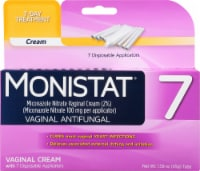 Monistat Simple Cure Vaginal Antifungal 7-Day Treatment Cream