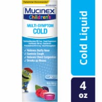 Mucinex Children's Multi-Symptom Very Berry Flavor Cold Liquid