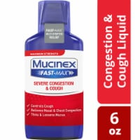 Mucinex Fast-Max Severe Congestion and Cough Multi-Symptom Relief Liquid Medicine