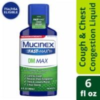 Mucinex Maximum Strength Fast-Max DM Cough & Chest Congestion Medicine Liquid