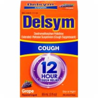 Delsym 12 Hour Relief Grape Flavored Cough Suppressant