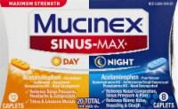 Mucinex Sinus-Max Max Strength Day & Night Sinus Pressure and Congestion Medicine Caplets