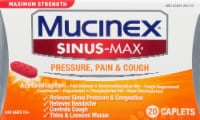 Maximum Strength Mucinex Sinus-Max Pressure Pain & Cough Medicine Caplets
