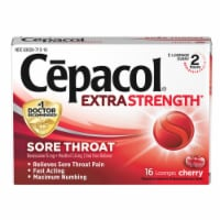Cepacol Extra Strength Sore Throat Cherry Lozenges