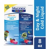 Mucinex Children's Multi-Symptom Day & Night Cold Relief Liquid