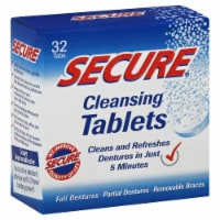 Secure Denture Cleansing Tablets