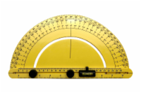 Industro Finder Angle, Protractor for Renovation Work, Home Improvement and More - Yellow - 1 unit