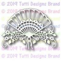 Tutti Designs - Dies - Floral Fan - 1