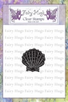 Fairy Hugs Stamps - Mini Scallop Shell