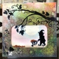 Fairy Hugs - Backgrounds  - 6\  x 6\  - Green Meadow - 1