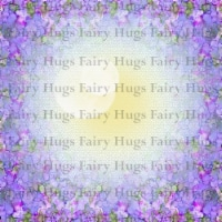 Fairy Hugs - Backgrounds - 6\  x 6\  - Lavender Dilly - 1