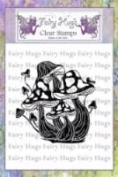 Fairy Hugs Stamps - Wild Mushrooms - 1