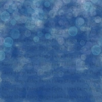 """Fairy Hugs - Fairy-Scapes - 6"""" x 6"""" - Blue Bubbles - 1"""
