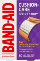 Band-Aid Cushion Care Extra Wide Sport Strip Bandages