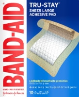 Band-Aid Tru Stay Large Adhesive Pads