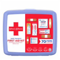 J&J Red Cross Safe Travel First Aid Kit
