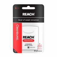 Reach Cleanburst Cinnamon Waxed Floss
